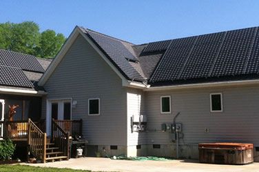 Off grid home solar solution